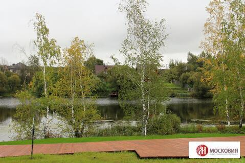 Участок 11,5 соток в поселке собсвенным прудом Калужское/Варшавское ш - Фото 1