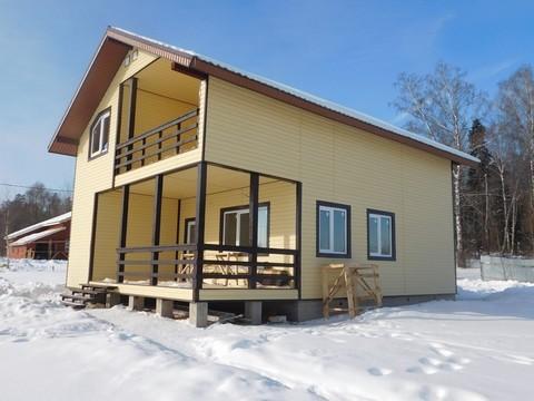 Межозерье. Новый коттедж ( дом ) для ПМЖ в деревне у озера - Фото 3