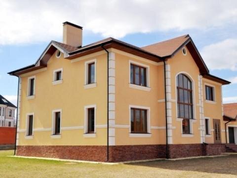 Коттедж 380 м, уч. 20с в п. Дубровицы на Калужском ш. в 22 км от МКАД - Фото 1