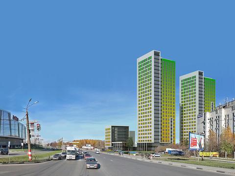 "Продаю 1к.кв. на ул.Родионова в ЖК ""Мегаполис"" вид на ТЦ ""Лента"", 40,9 - Фото 1"