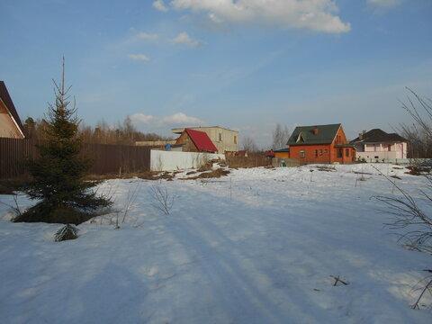 Продам отличный участок 11 сот. в 6 км от Зеленограда ИЖС - Фото 1