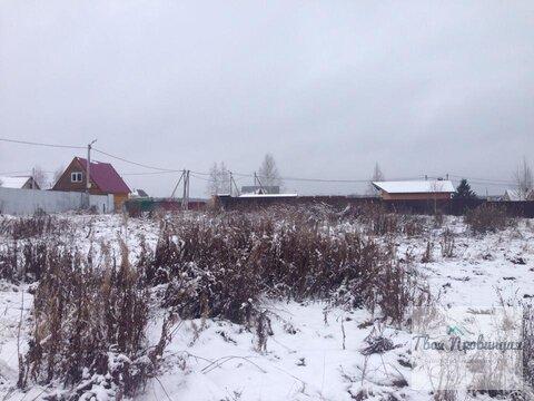 Участок 12,5 соток в деревне Беляево Чеховский район - Фото 4