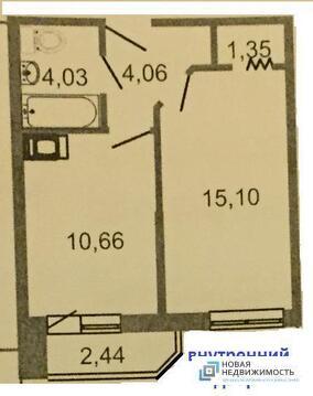 3 100 000 Руб., 1 комн. квартира с чистовой отделкой у метро, удобной планировки, Купить квартиру в новостройке от застройщика Мурино, Всеволожский район, ID объекта - 317929993 - Фото 1