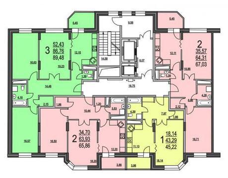 1-комнатная квартира в Царицыно - Фото 3