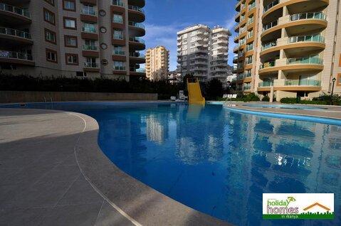 Просторные уютные 2+1 апартаменты с видом на море в Махмутларе., Квартиры посуточно Аланья, Турция, ID объекта - 316090774 - Фото 1