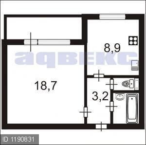 Купить 1-комнатную квартиру - Фото 1