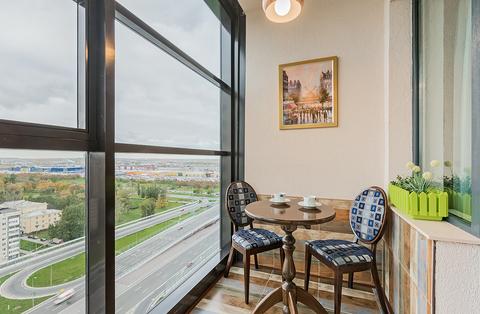 Предлагаю в посуточную аренду апартаменты-студио с балконом и кроватью - Фото 5