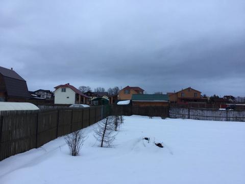 10 соток в обжитой деревне Сенино Чеховского района - Фото 2