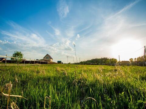Участок 12 соток, Можайский р-н, Минское шоссе, 97 км - Фото 1