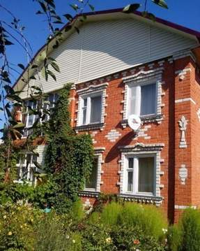 Продам дом 192 кв.м. на 28 сот. Лысковский р-он - Фото 1