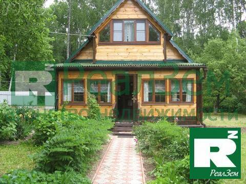Дом 101 м2 (брус) на участке 16 сот в Боровском районе СНТ Березка - Фото 1