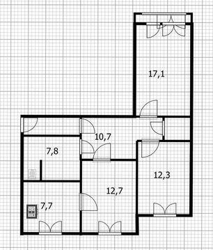 Продажа привлекательной 3-х комнатной квартиры - Фото 4