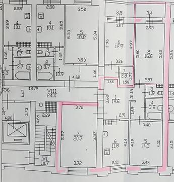 Трехкомнатная квартира в новом доме на Комендантском проспекте - Фото 2