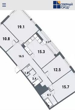 Продажа квартиры, м. Комендантский проспект, Комендантский пр-кт. - Фото 2