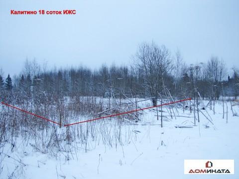 Продам участок 18 соток ИЖС Калитино, Ленинградская область - Фото 2
