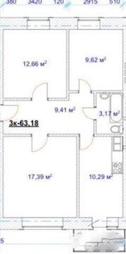 Продам 3-к квартиру, Тверь г, улица Чехова 41, Купить квартиру в Твери по недорогой цене, ID объекта - 317107972 - Фото 1
