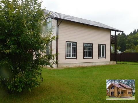Дом у озера Калужское шоссе кп Загорье у деревни Спас-Прогнанье - Фото 2