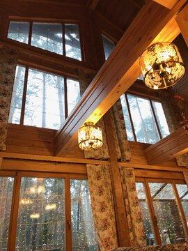 продаётся великолепный новый жилой дом из клееного бруса ангарской сосны пл. 326 кв...