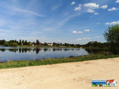 Участок 20 соток на берегу озера, Рузский р-н. - Фото 1