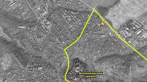 Участок с домиком в Волоколамске на Северном шоссе в 100 км. от МКАД - Фото 2