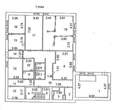 Помещение свободного назначения в бизнес-резиденции 480 кв.м. - Фото 2