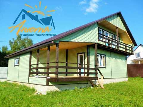 Продается дом с газом и гаражом на берегу озера в Жуковском районе - Фото 2