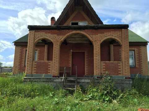 Срочно продается дом без отделки в Рузском районе д. Нововолково - Фото 1