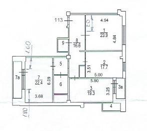 3-я квартира на Веерной - Фото 1