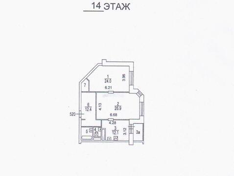 6-я Радиальная 5к2 квартира в новом доме - Фото 3
