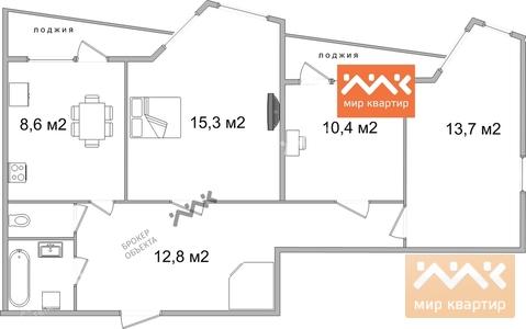 Продажа квартиры, м. Гражданский проспект, Культуры пр. 29 - Фото 2