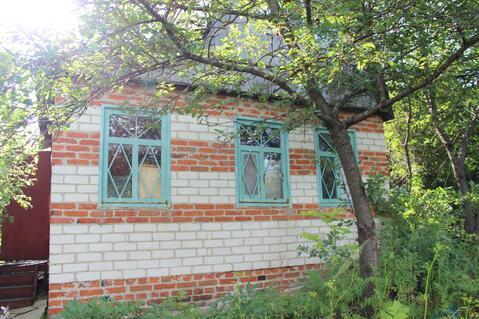 Продам дачный участок 6 сот. с кирпичным домом 37м2 - Фото 1