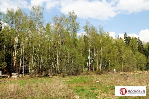 Прилесный участок 11 соток, 38 км от МКАД по Киевскому ш. - Фото 4