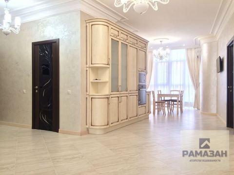 Трёхкомнатная квартира в элитном доме ЖК Магеллан - Фото 1
