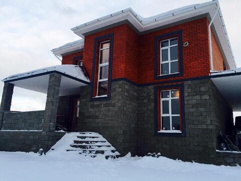 Каменный дом под ключ 200 м2 - 12 млн рубкиевское шоссе - Фото 1