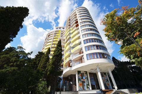Продается однокомнатная квартира в Ялте , Приморский парк в ЖК Лотос - Фото 1