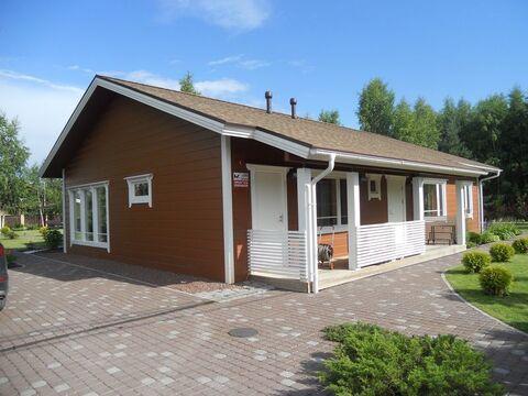 Вырица: финский дом из клееного бруса 163 кв.м на уч. 24 сот. для ИЖС - Фото 1