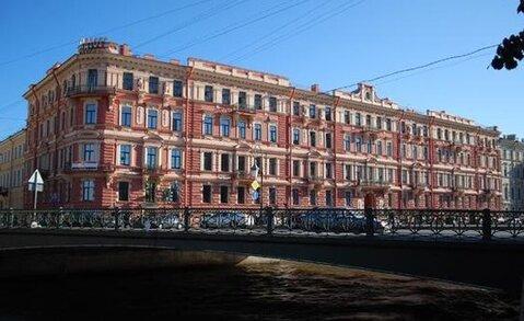 Продается 7 к. 2-х сторонняя квартира на набережной реки Мойки 82 - Фото 1