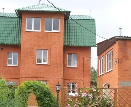 3-этажный коттедж 200 м2 на участке 8 сот, Щёлковское шоссе - Фото 2