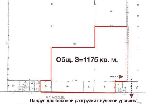 Склад 1175 м2, Первый этаж, Фарфоровская ул. дом 1 - Фото 5