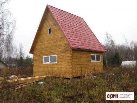 Новая дача из бруса в Рыжиках. - Фото 1