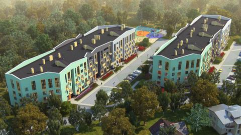 Квартира с антресольным этажом и видом на берёзовую рощу - Фото 1