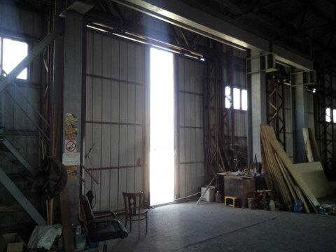 Холодный склад 560 кв.м. с кран-балкой в Цемдолине. - Фото 2