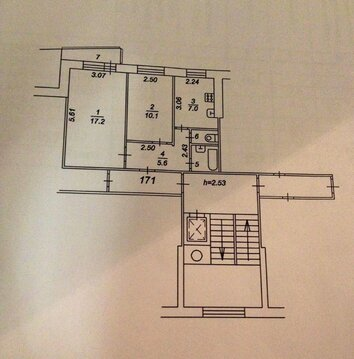 Уютная двухкомнатная квартира на Фадеева 10 - Фото 2