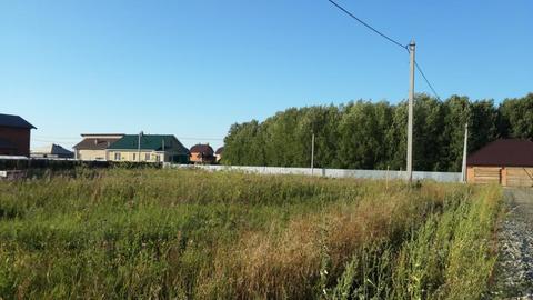 Участок в коттеджном поселке Луговое - Фото 1
