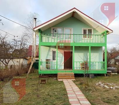 Дом 120 кв.м. в Подольске, район Силикатная-2, на тер. СНТ Воговец - Фото 1