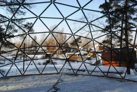 Каркас купольного дома - Фото 2
