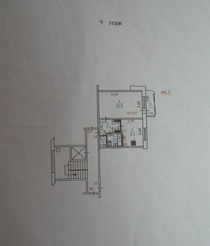 Однокомнатная Квартира Улучшенной Планировки Подготовлена к ремонту. - Фото 3