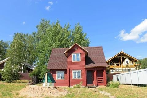 Дом из клееного бруса 120 кв. на участке 10 соток в деревне Горловка - Фото 2