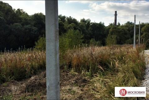Лесной участок 15 соток, на берегу реки. Москва. 30 км от МКАД. - Фото 1