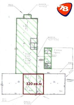 388 м2, 1 этаж, вода, канализация, много эл-ва - Фото 2